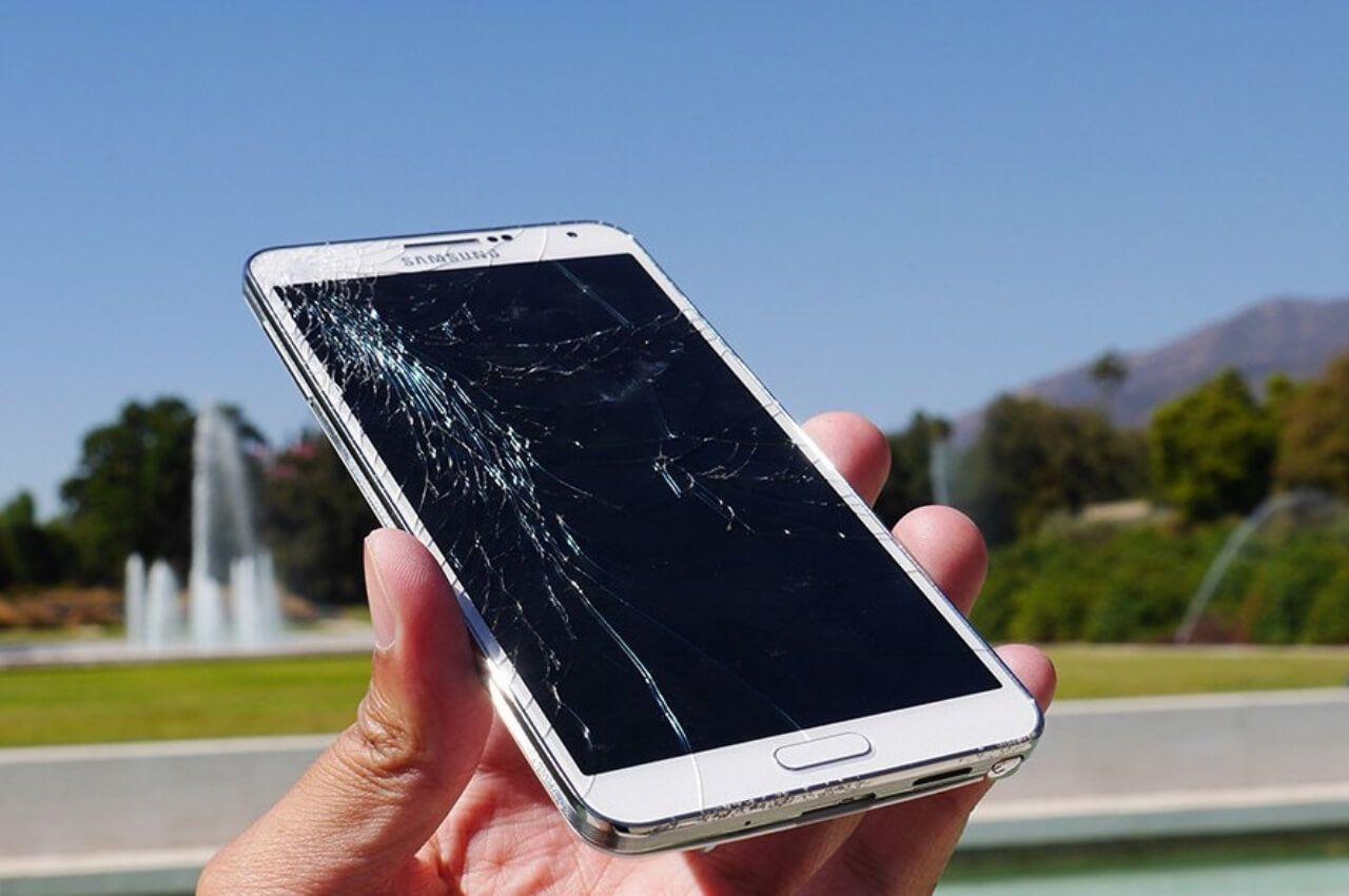 celular samsung roto