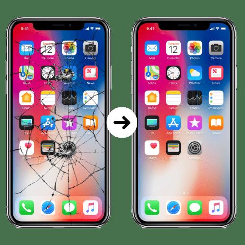 iphone cambio de vidrio original